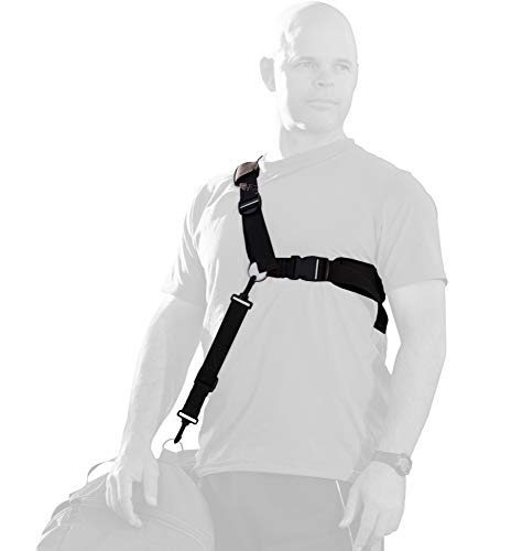 Ergonomic bag strap eases back pain, neck pain, shoulder pain. Provides lumbar support and back support. Enhances benefits of back braces and belts. (Shoulder And Back Posture Support Strap Reviews)