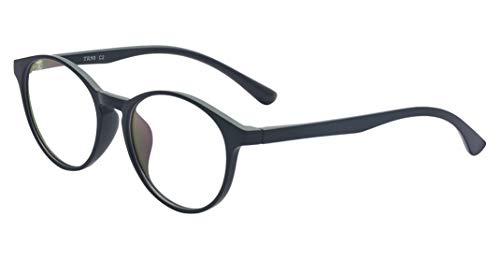 ALWAYSUV Vintage TR90 Frame Round Clear Lens Glasses Optical Prescription Glasses Frame