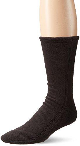 Acorn Unisex Versafit Sock Slipper, Black, XX-Small (Women's 5.5-6.5) Standard Width US