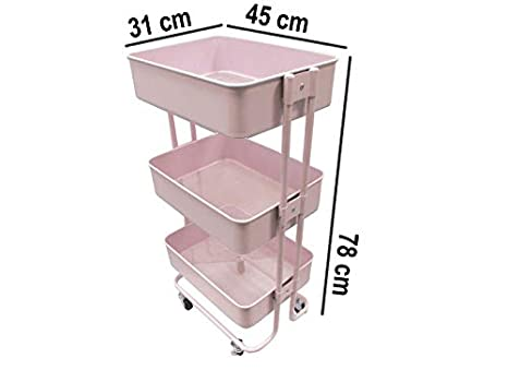 COLEPROFE Carrito Manualidades / Multiusos 78x45x31 cm.: Amazon.es: Juguetes y juegos