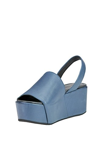 BALEAR MANIA Leder MCGLCAT03115E Hellblau Damen Keilabsatz T8ZwAfq8xr