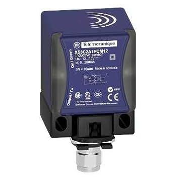 Telemecanique psn - det 32 12 - Detector inductivo xs8 cubiq 40x40x70 12-48v: Amazon.es: Bricolaje y herramientas