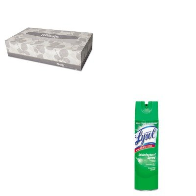 KITKIM21400BXRAC74276CT - Value Kit - Professional LYSOL Brand Disinfectant (RAC74276CT) and KIMBERLY CLARK KLEENEX White Facial Tissue (KIM21400BX) by Lysol
