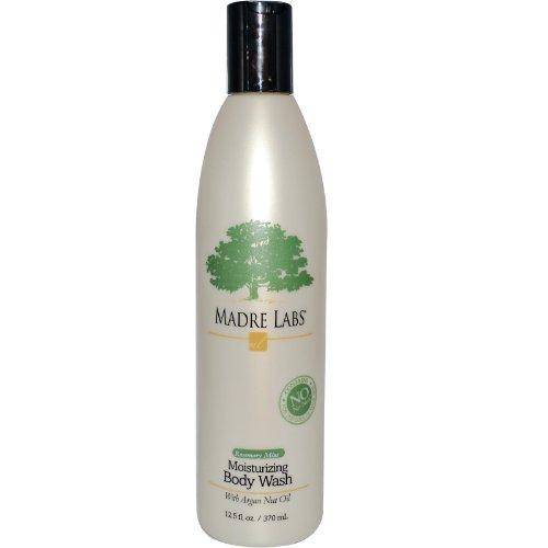 Madre Labs, Moisturizing Body Wash, Rosemary Mint, 12.5 fl oz (370 (Body Mint Mint Shower Gel)