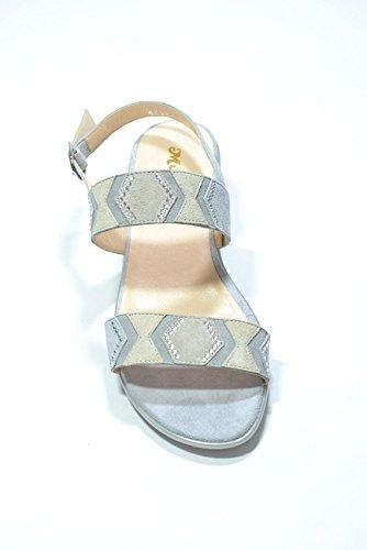 Melluso Sandali zeppa perla scarpe donna R8322