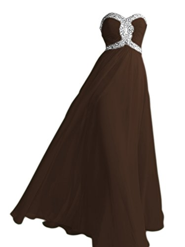 champagne and chocolate brown flower girl dresses - 4