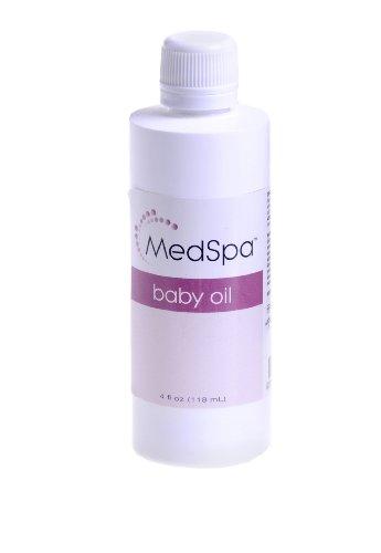 Medline MSC095052 MedSpa Baby Oil, 4oz. (Case of 60) by Medline
