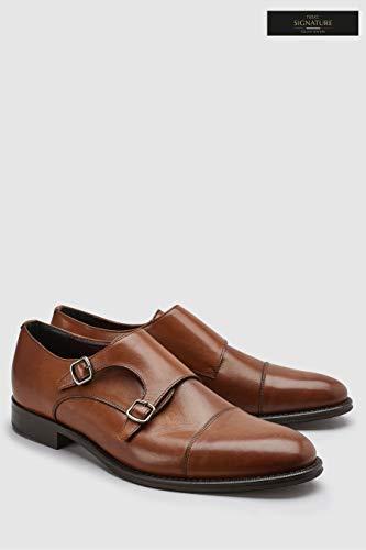 Homme Chaussures Signature Doubles À Next Boucles Tan fp7w87q