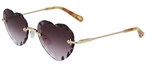 Chloé Gafas de Sol ROSIE CE150S GOLD/VIOLET SHADED mujer ...