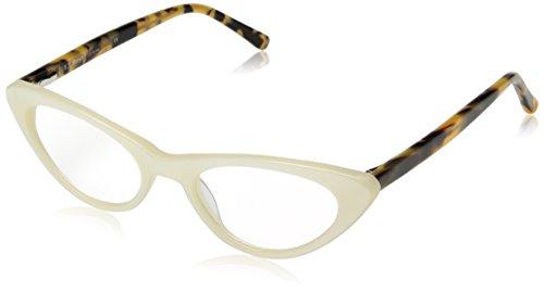 A.J. Morgan Women's Fifi - Power 2.75 69142 Rectangular Reading Glasses, Pearl ()