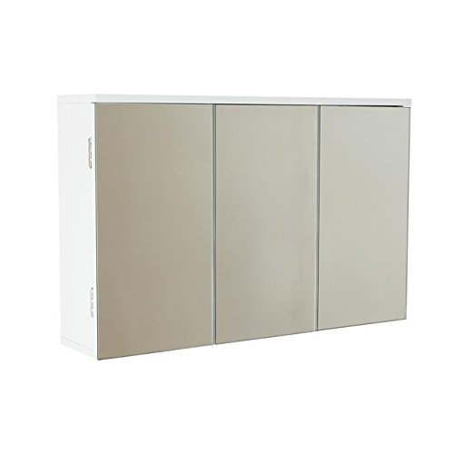 Tripple Mirrored Door Wall cabinet House and Homestyle