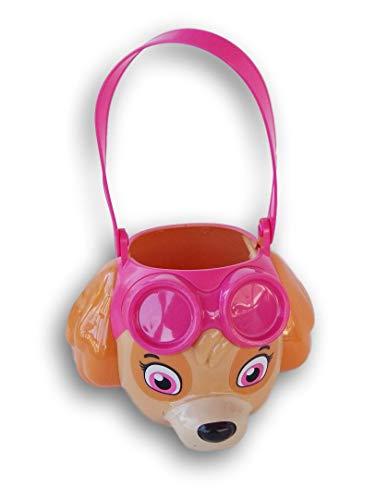 Pup Patrol Skye Easter Basket Halloween Bucket ()