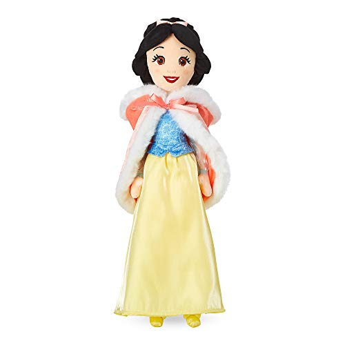 Disney Snow White Plush Doll in Winter Cape - Medium - 19 Inch No Color
