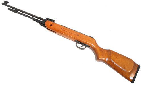 New Air Pellet Rifle Gun B3 4.5mm 177 Caliber Real Wood with (177 Caliber Pellet Rifle)