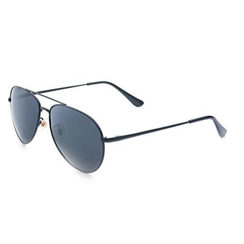 ed03541550 Jee Gafas de sol hombre mujer polarizadas aviator aviador 8064 85% OFF