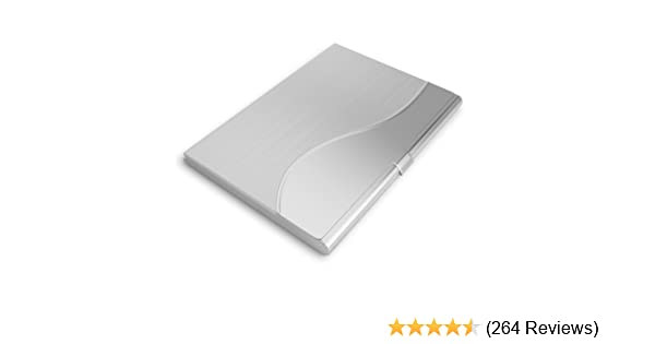 Amazon business card holder case for businesspeople and amazon business card holder case for businesspeople and professionals office products reheart Gallery