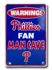 Philadelphia Phillies Parking - Dixie Philadelphia Phillies Man Cave Parking Sign