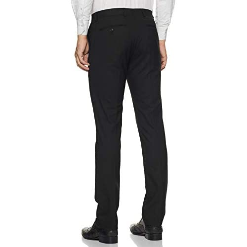 31MlJH08ujL. SS500  - Amazon Brand - Symbol Men's Slim Fit Stretchable Formal Trousers