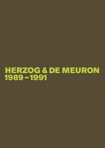 Download Herzog & de Meuron 1989-1991 PDF
