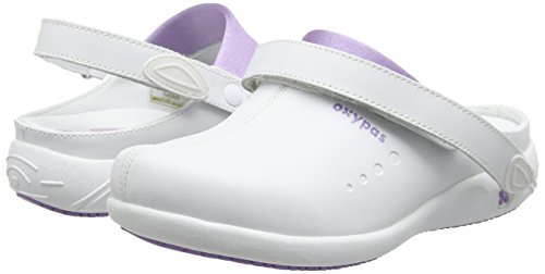 Oxypas Doria, Women's Safety Shoes, White (Lic), 8 UK (42 EU)