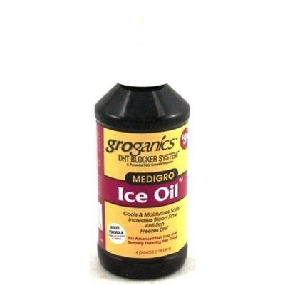 - Groganics Dht Ice Oil Scalp Moisturizing 4oz (2 Pack)