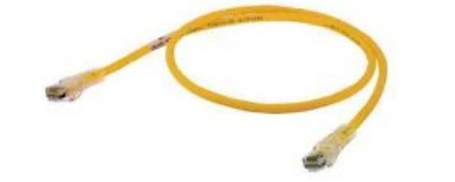 Category 5e Yellow Hubbell Wiring Systems HC5EY07 netSELECT Structured Wiring Universal Patch Cord 7 Length