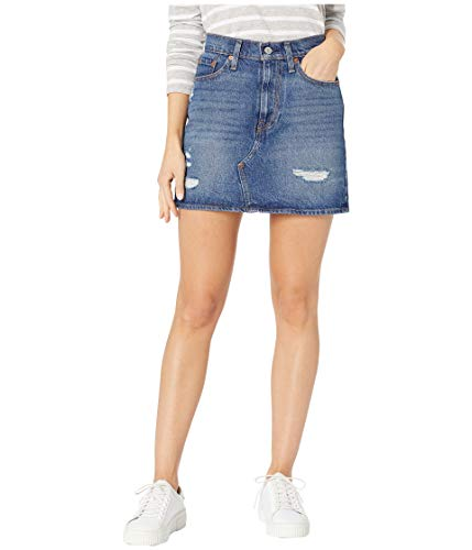 Levi's Women's Deconstructed Skirts, Middle Avenue, 24 (US 00)