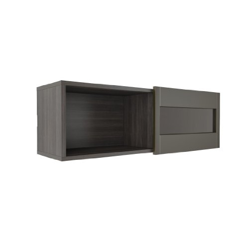 Nuance Wall Shelf 102637 from Nexera, Espresso