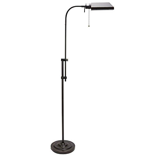"Revel Prescott 62"" Adjustable Occult Bronze Metal Pharmacy Floor Lamp (Contains Minimal Blemishes/Inconsistencies)"