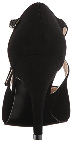 Pleaser Damen Dream-412 Sandalen mit Absatz Black (Blk Nubuck)