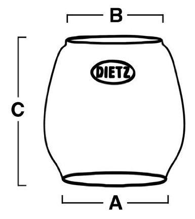 Dietz D-Lite and Jupiter Replacement Globe by Dietz