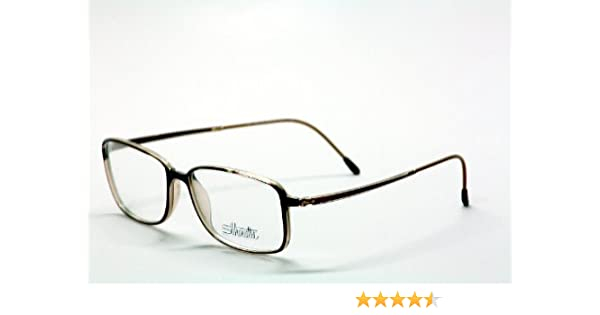 2dd1da02177 Amazon.com  Silhouette Eyeglasses SPX Legends Full Rim 2832 6103 Optical  Frame 52x14x140mm  Health   Personal Care