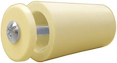Sysfix Tope para persiana TP 35 Marfil (Caja de 12 Unidades con Tornillo y arandela), 3.5x2.4x2.4 cm: Amazon.es: Hogar