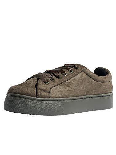 psMonet Pieces Scarpe Sneaker Verde Donna tF1wrF