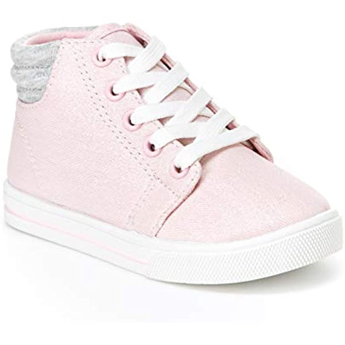 Simple Joys by Carter's Unisex-Child Cora Gliter High-top Sneaker
