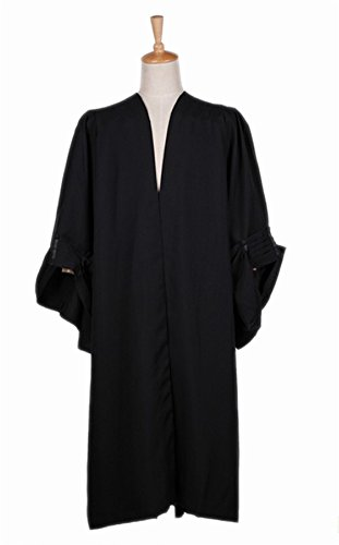 Ivyrobes Fluted Judge Robes in UK style (51(fits height 51