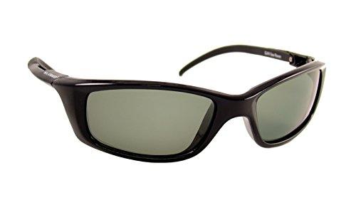 - Sea Striker Sea Raven Polarized Sunglasses, Black Frame, Grey Lens