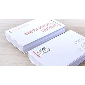 500 St Visitenkarten Mit Logo Spitze Ecken Offset Ab