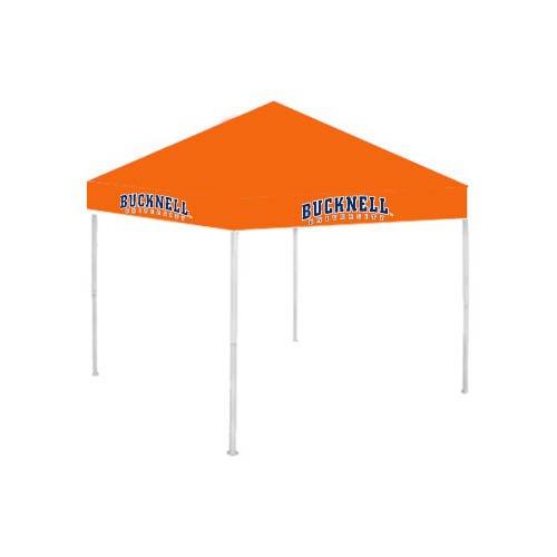 Bucknell 9 ft x 9 ft Orange Tent 'Bucknell Bison' by CollegeFanGear