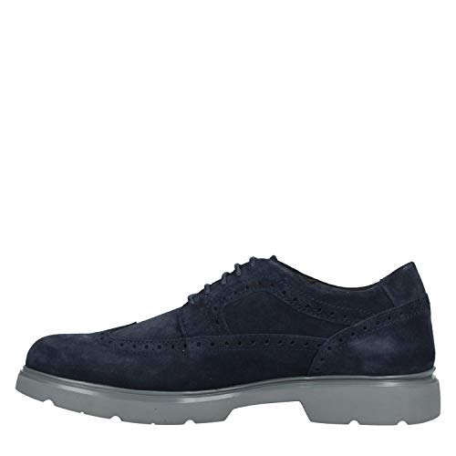 C4002 Azul Hombre Geox Brogue Para Cordones Arrall navy Zapatos De U B RSRzAP