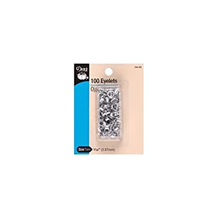 Bulk Buy: Dritz Eyelet Refills 5/32 100/Pkg Nickel 104-65 (6-Pack) Prym Consumer USA Inc.