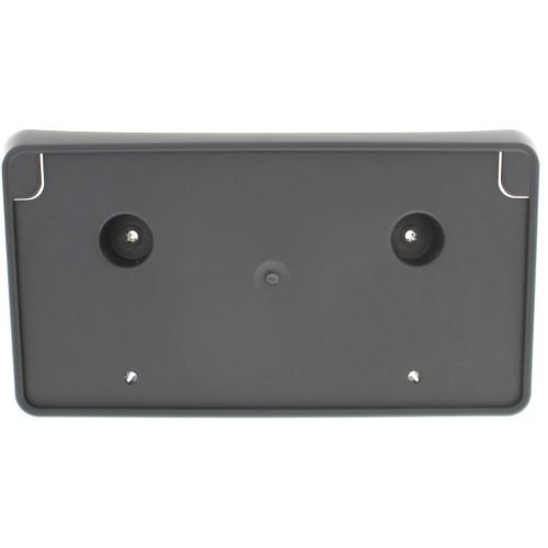 Make Auto Parts Manufacturing - RAM 1500 P/U 13-16 FRONT LICENSE PLATE BRACKET, 2 Piece Type Bumper, Type 1 - CH1068127