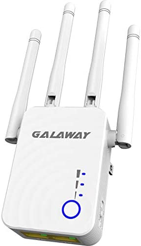WiFi Booster G1208 Wireless Repeater 1200Mbps/2.4GHz 5 GHz WiFi Extender WiFi Range Booster Four External Antennas Amplifier with Ethernet Ports