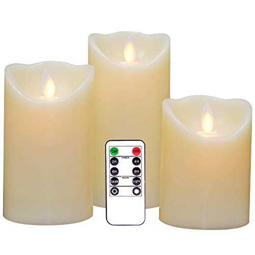Led Light Pillar Candles in US - 9