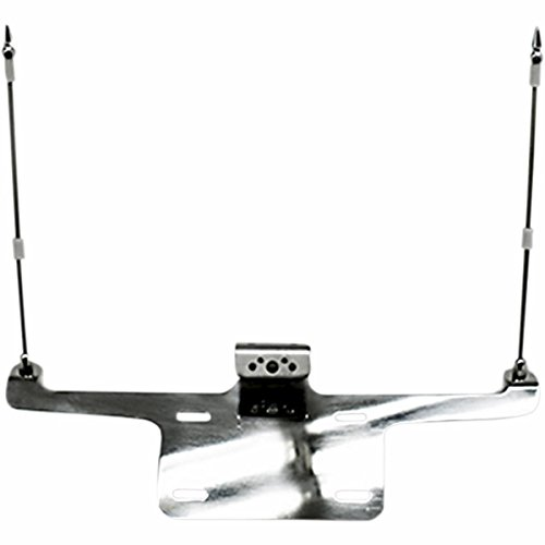 Rivco Products Laydown License Plate and Double Flag Holder FH550