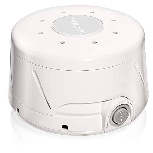 (Marpac Dohm Classic (White) | White noise machine | 101 Night Trial & 1 Year Warranty | Soothing sounds from a real fan helps cancel noise while you sleep | For adults & children)