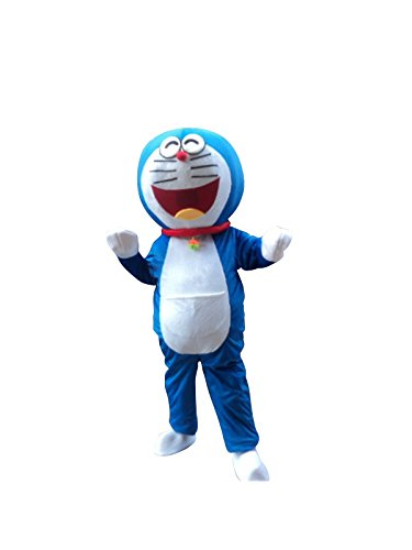 Doraemon Robot Cat Mascot Costume Cosplay Fancy Dress Outfit Suit ()