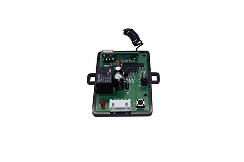 Access Control 2 Mini 315mhz Wireless Fixed Code Remotes with Two Channels RF Receiver Momentary Switch, One DC Power Plug Female Connector and One 12VDC 2Amps UL Certified Power Supply Kit by CCTVOnSales (Image #3)