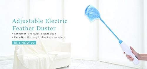 Bright love Ajustable eléctrica Pluma Plumero Polvo Suciedad ...