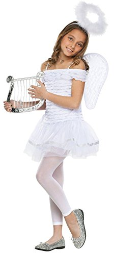 Fun World Little Angel Kids Costume White -